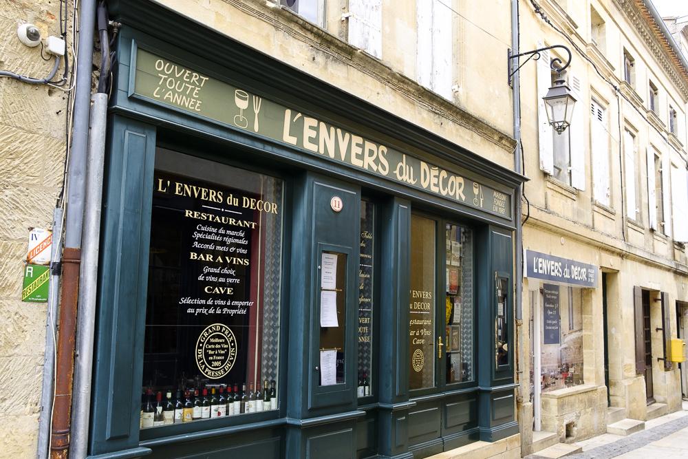 L'Envers du Decor: De la misma propiedad que el restaurante de la Hostellerie de Plaisance