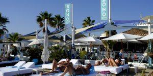 Marbella: Entrada al Bono Beach desde la Playa del Alicate.