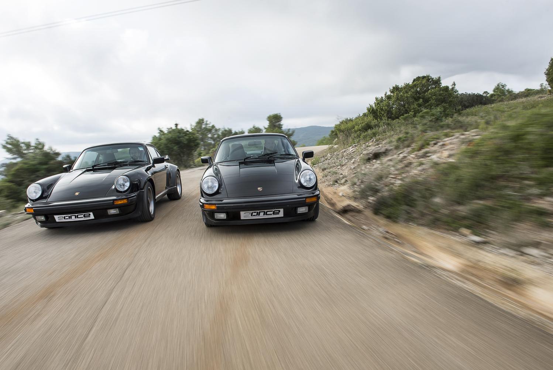 911 Carrera 3.2 contra 911 Turbo 3.3
