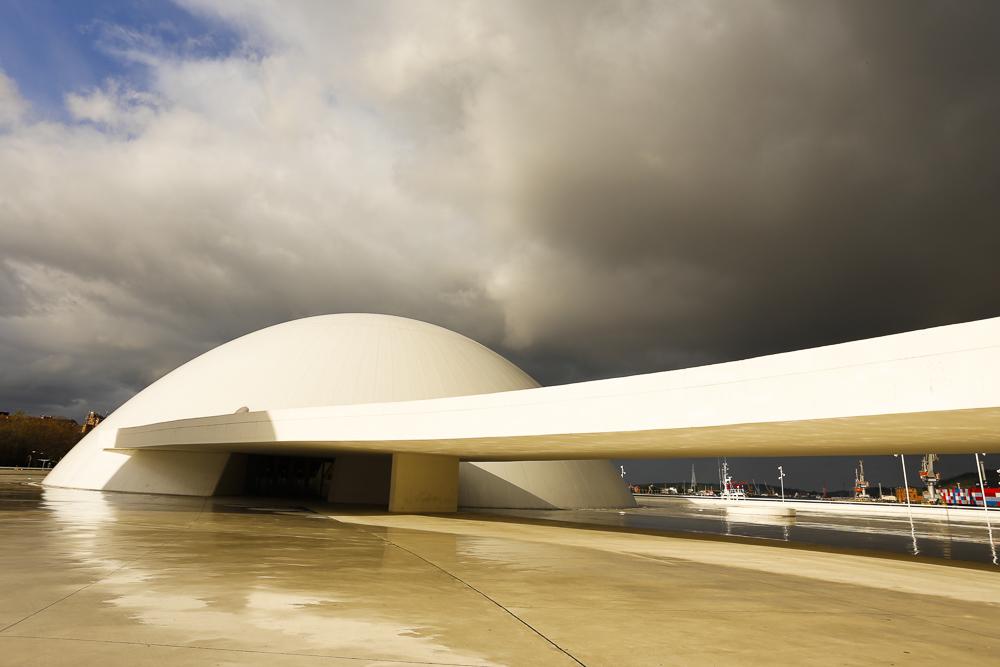 Centro Niemeyer. Cúpula.