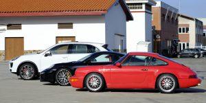 Pasión Porsche desde Asturias. Foto cedida por 9OncePlus.