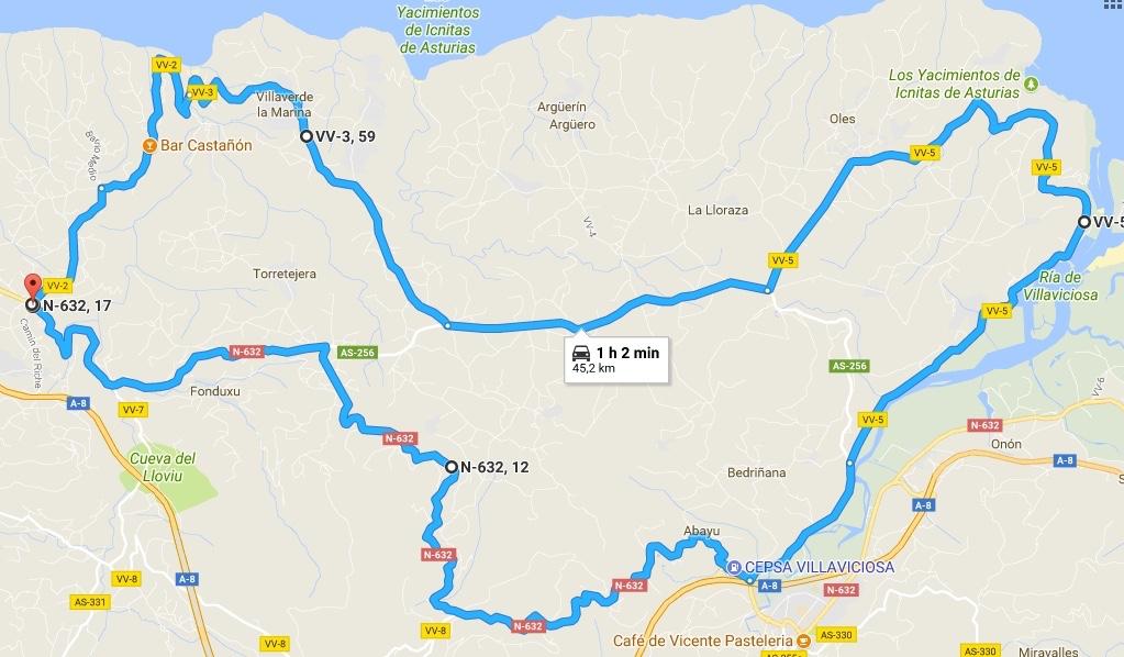Otra variante del AsturRing, esta de casi 50km.