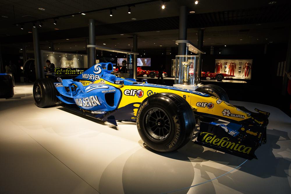 Los dos Renault del Bicampeonato del Mundo de F1. Qué recuerdos!