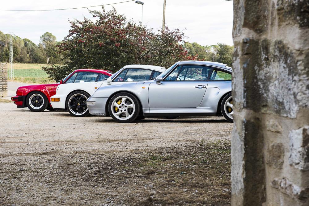Comparativa 911 Turbo atmosféricos. Foto cedida por 9OncePlus.