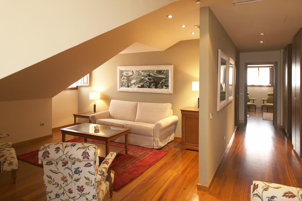 Hostería de Torazo: Una de las suites.