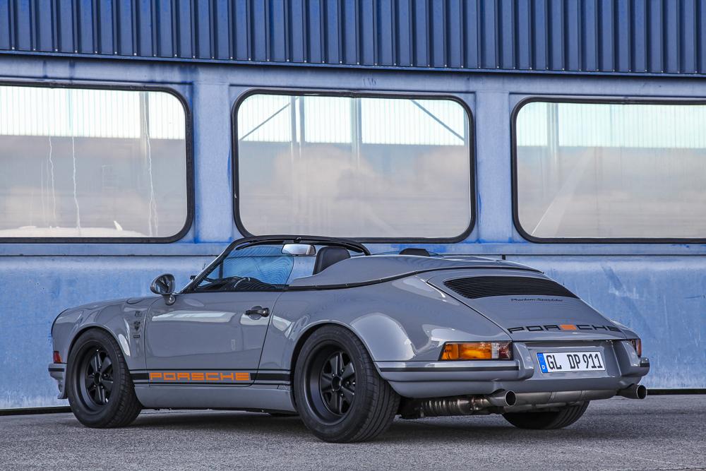 Una suculenta preparación: 911 Speedster por DM Motorsport. Foto cedida por 9OncePlus.