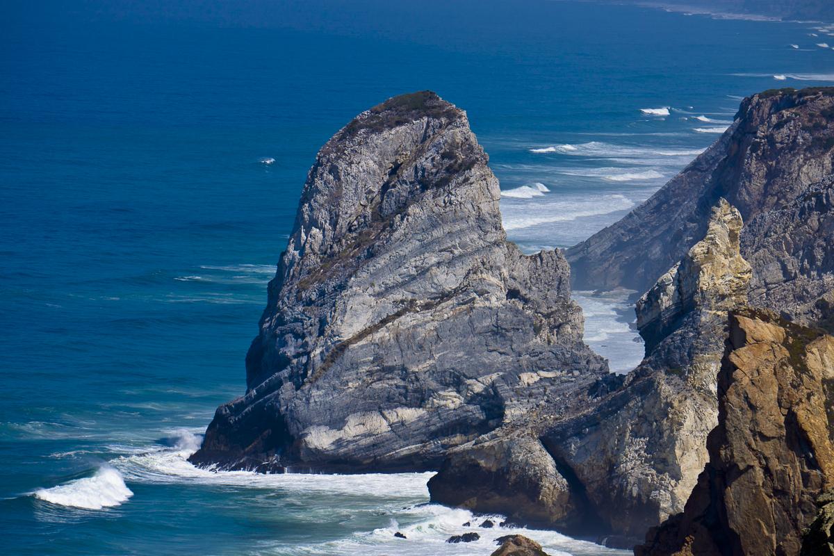 Cabo da Roca, Portugal. El punto más occidental de Europa.