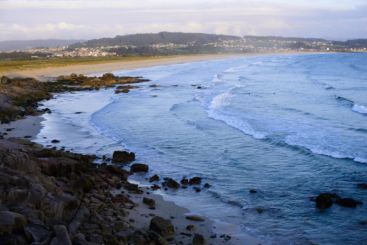 Playa de La Lanzada, Galicia.