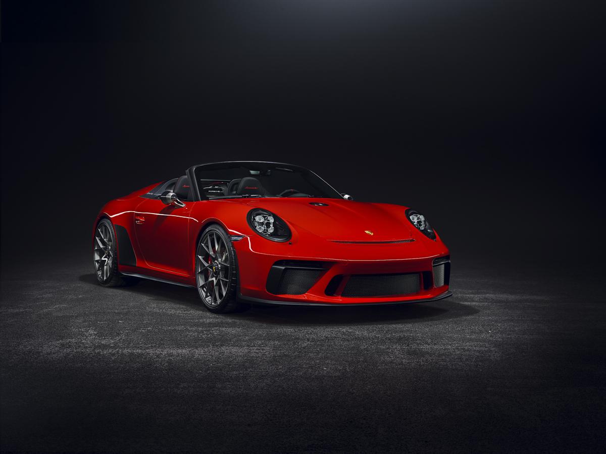 Porsche Speedster 2018 Concept. Foto cedida por 9OncePlus.