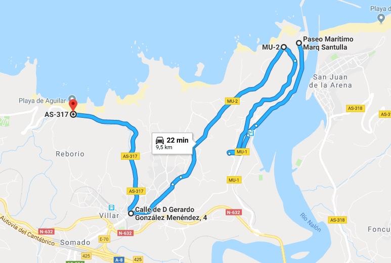 Ruta Princesa, Primer Sector, 3: Paramos en el Mirador del Espíritu Santo y seguimos hacia la Playa del Aguilar.