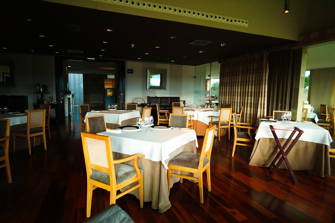 Restaurante Balcón del Sueve: Vista general del comedor.