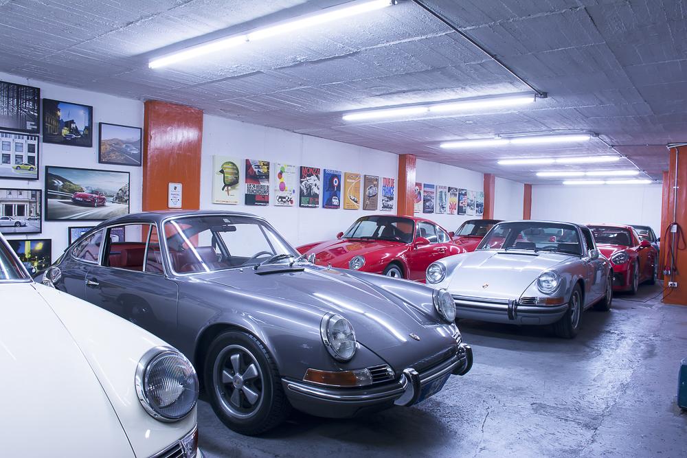 Un garaje increíble en Bogotá .Foto cedida por 9OncePlus.