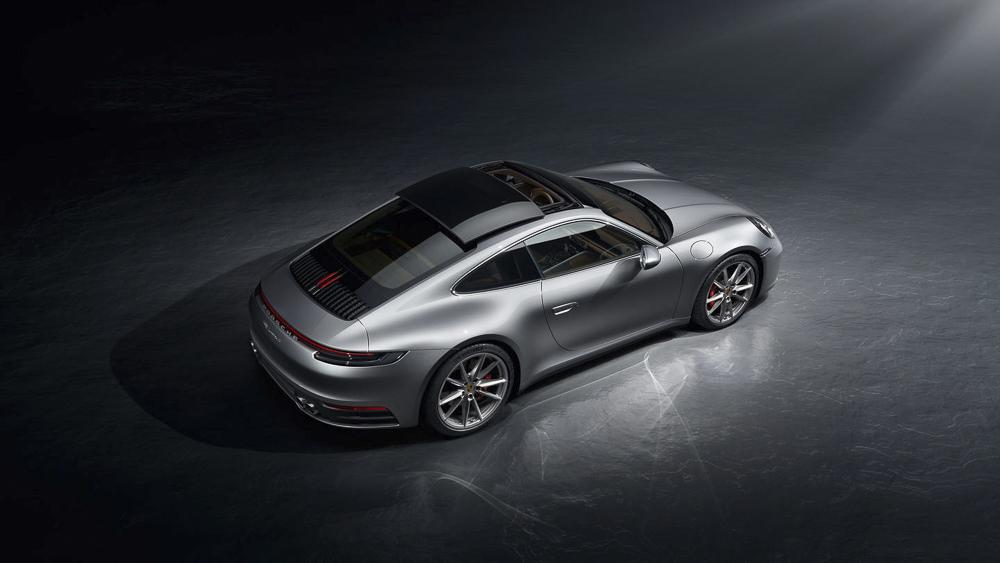 El Porsche 992 ha llegado .Foto cedida por 9OncePlus.