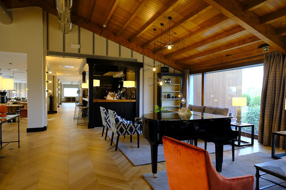 Hotel Artiem Asturias: Vista del salón Principal.