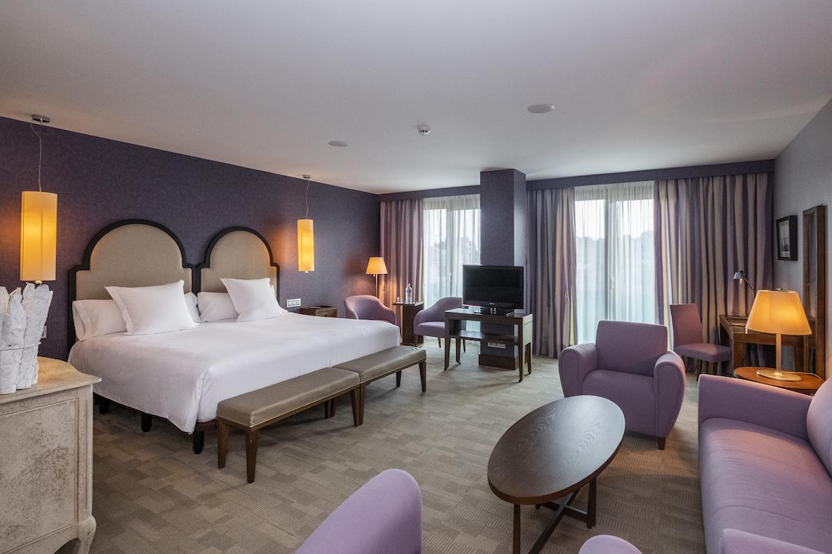 Habitación Junior-Suite. Consultar precio en el Hotel de este tipo de habitación.