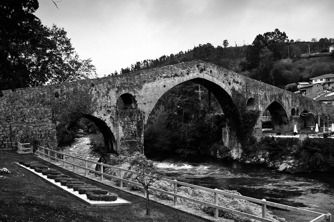 Puente Romano de Cangas de Onís.