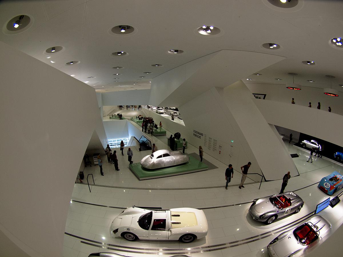 El Museo desde la planta superior.