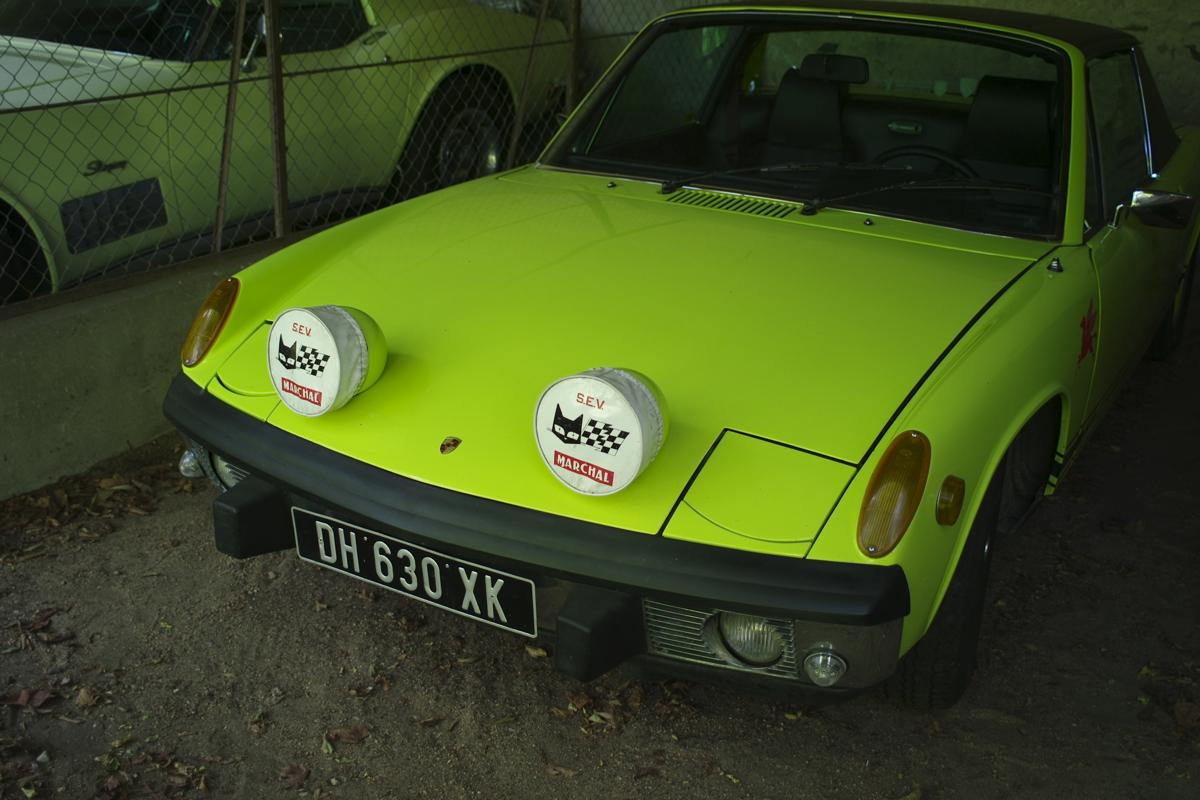 La Passagére: Porsche 914.