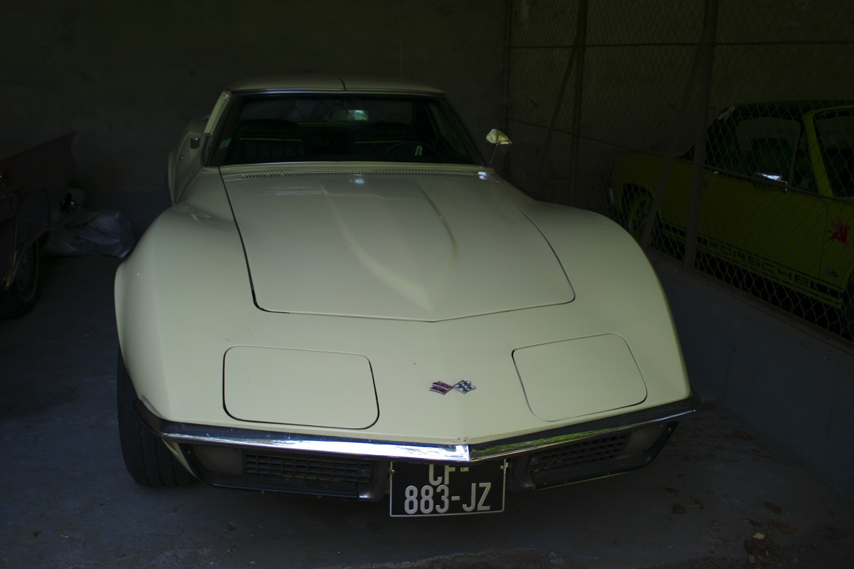 La Passagére: Un Corvette Stingray C3 5,7L de 1970.