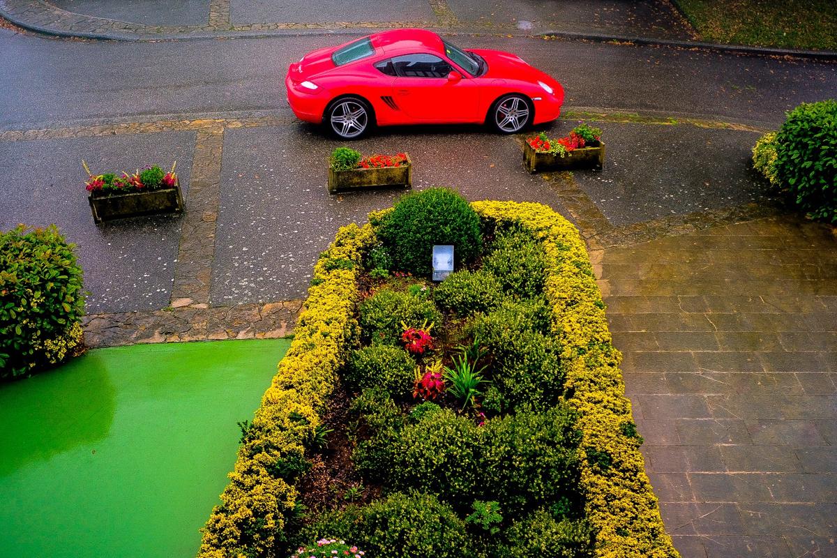 II Ruta Princesa. Un Porsche Cayman S madrugador.