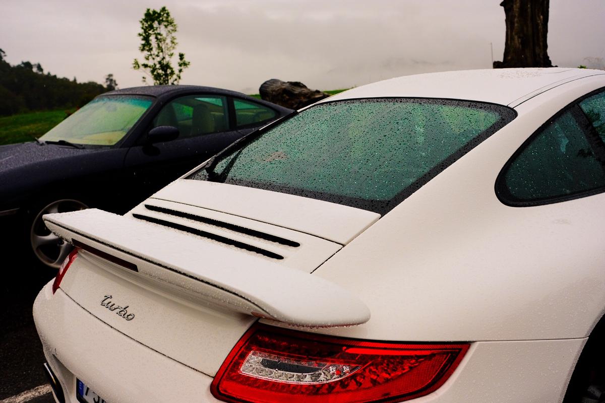 II Ruta Princesa. Nos encanta este 997 Turbo blanco!