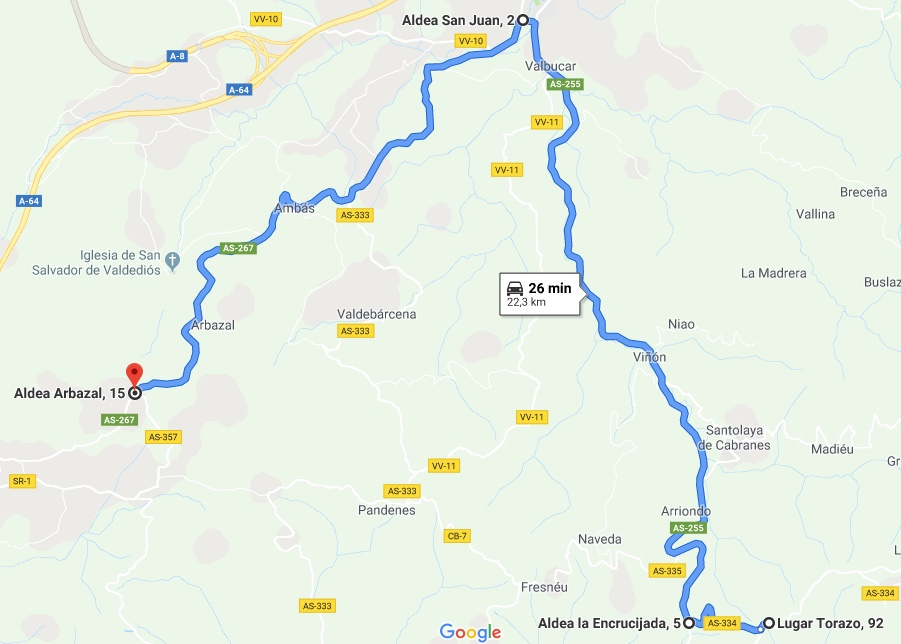 II Ruta Princesa. Torazo->Villaviciosa->Alto de La Campa