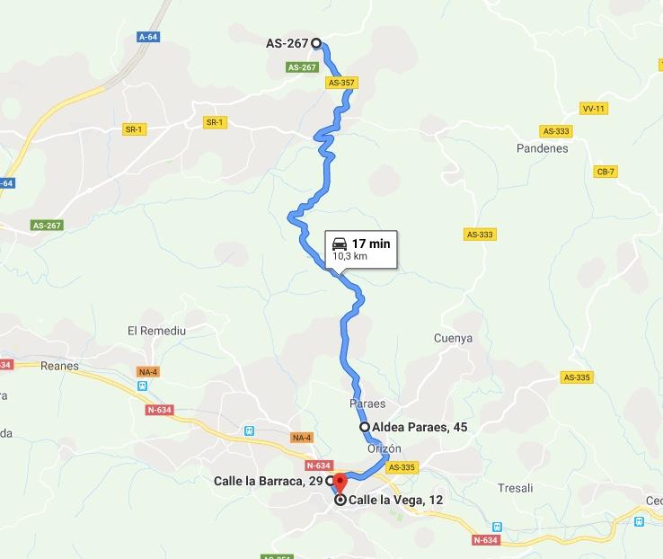 II Ruta Princesa. Alto de La Campa -> Nava
