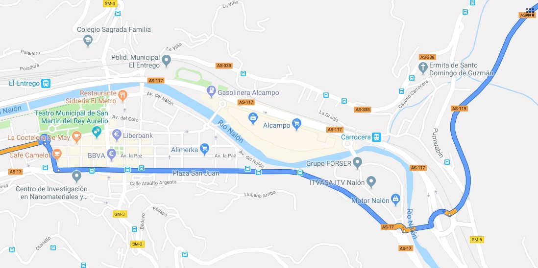 II Ruta Princesa. Circular por El Entrego.