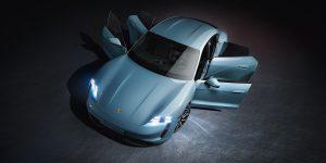 Porsche Taycan: Futuro hecho presente. Foto cedida por 9OncePlus.