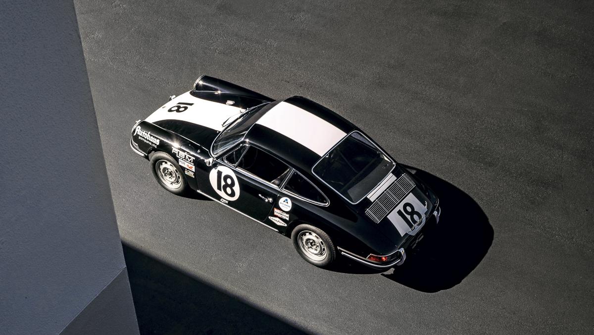 El primer Porsche que ganó las 24 horas de Daytona en categoría GT. Foto cedida por 9OncePlus.